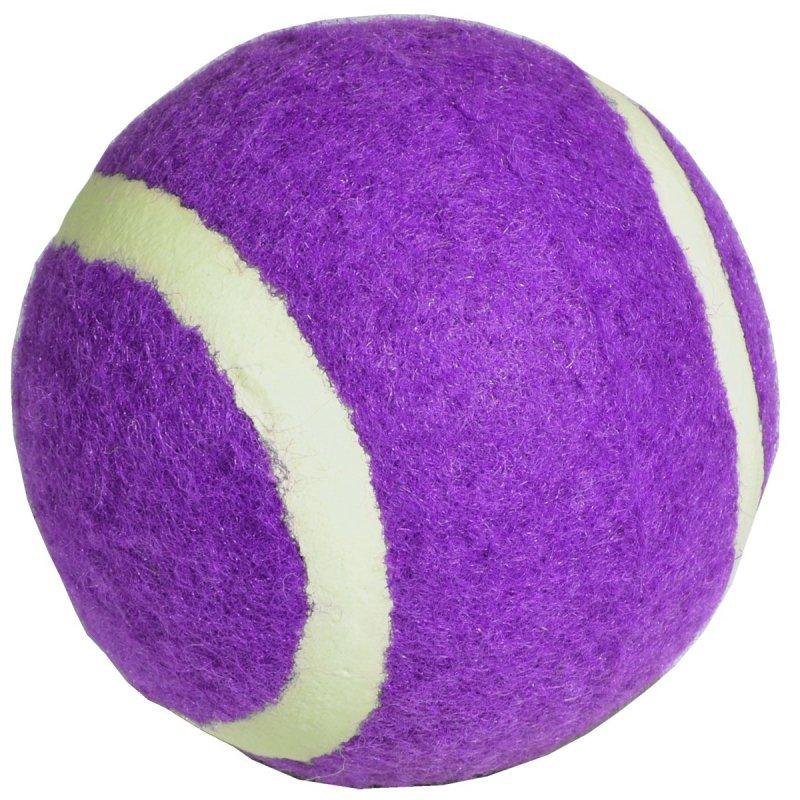 Piłka tenis ziemny  1 szt fioletowa