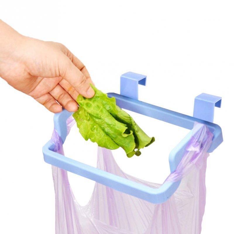 Wieszak kuchenny na kosz śmieci  ścierkę zielony