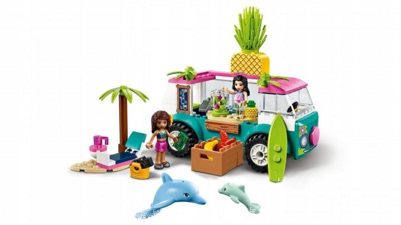 LEGO FRIENDS Food truck z sokami 103 el