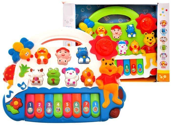 Pianinko-organki-dla-dzieci-odgłosy-zwierząt-zielone-2