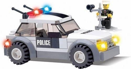 Klocki Blocki MyPolice Auto z Radarem 69 el.