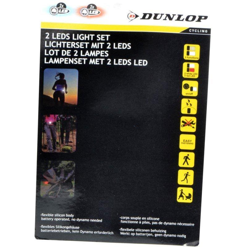 Zestaw-silikonowych-lamp-rowerowych-Led-przód-tył-Dunlop-Deluxe-3
