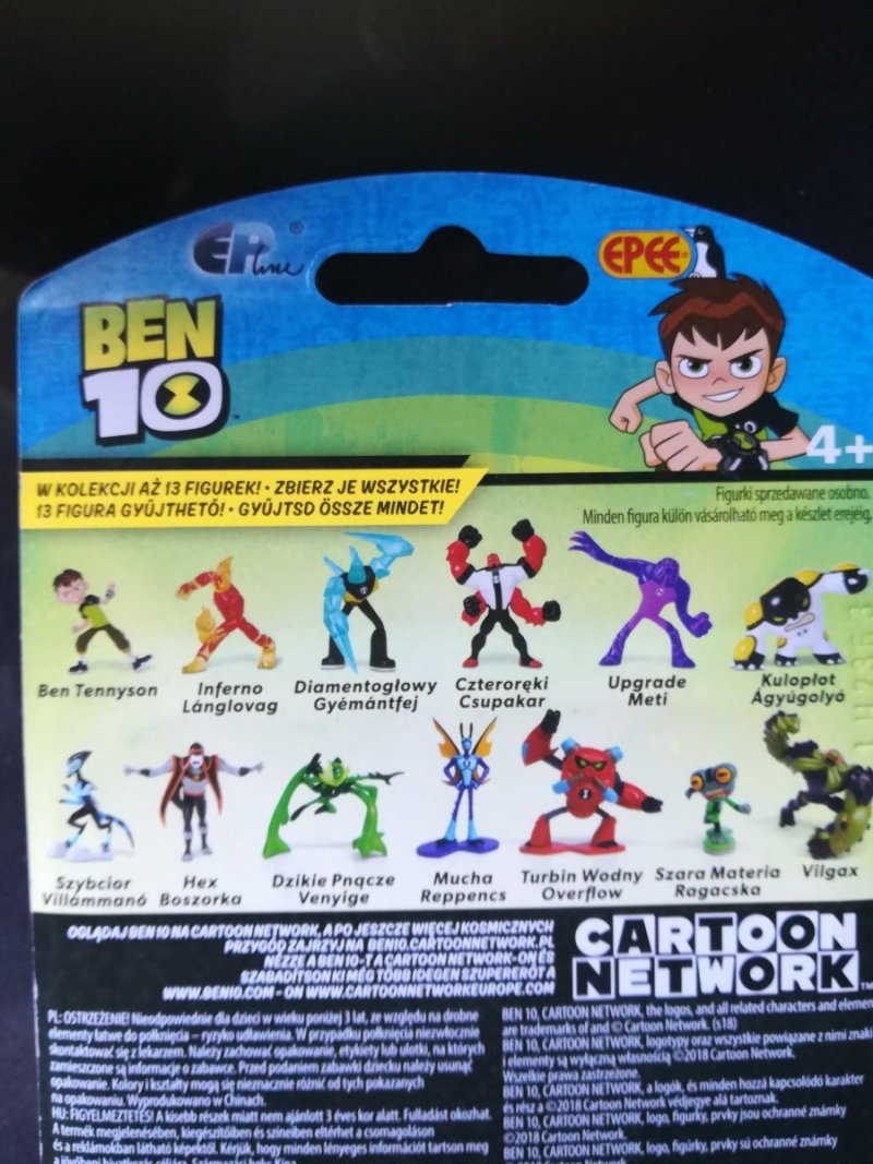 Ben 10 - Mini Figurka - szybcior