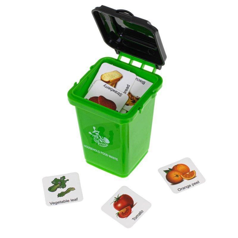 Gra logiczna Segregacja Śmieci + Karty