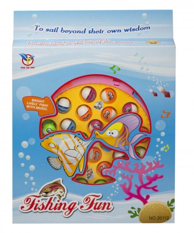 Gra rodzinna łowienie ryb 24 rybek