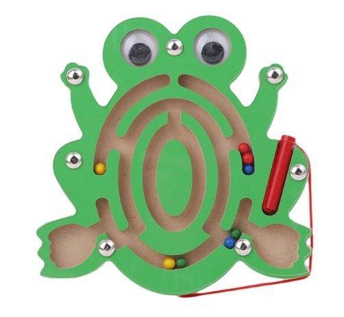 Labirynt magnetyczny kuleczki żaba