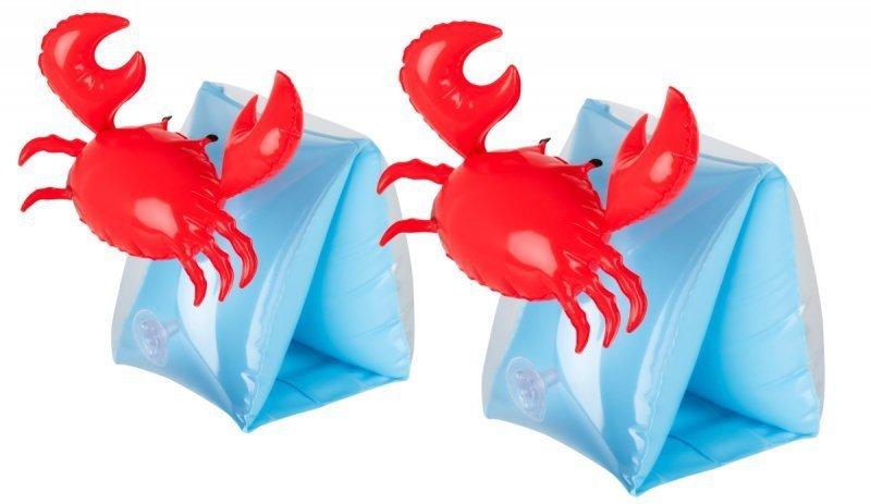 Motylki rękawki dmuchane do pływania krab