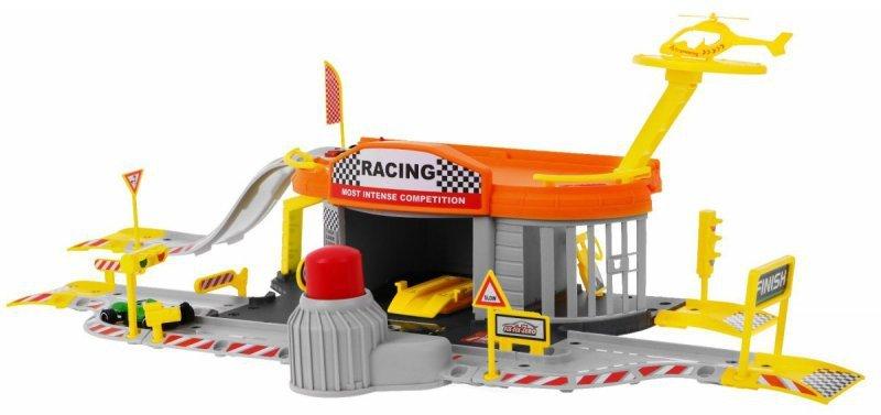 Tor-wyścigowy-+-parking-garaż-2-pojazdy-helikopter-1