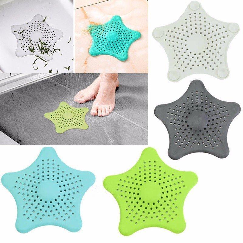 Filtro sitko silikonowe do zlewu umywalki wanny biały