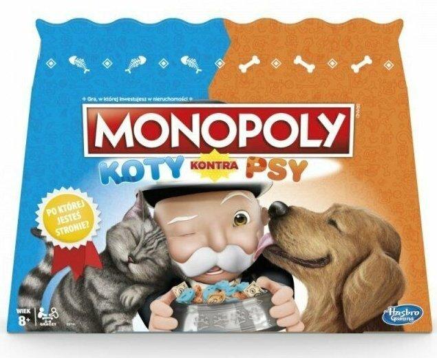 MONOPOLY-KOTY-KONTRA-PSY-HASBRO