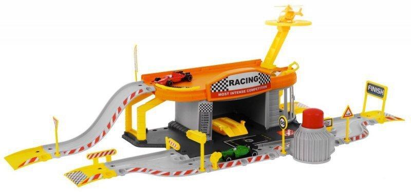 Tor-wyścigowy-+-parking-garaż-2-pojazdy-helikopter-3