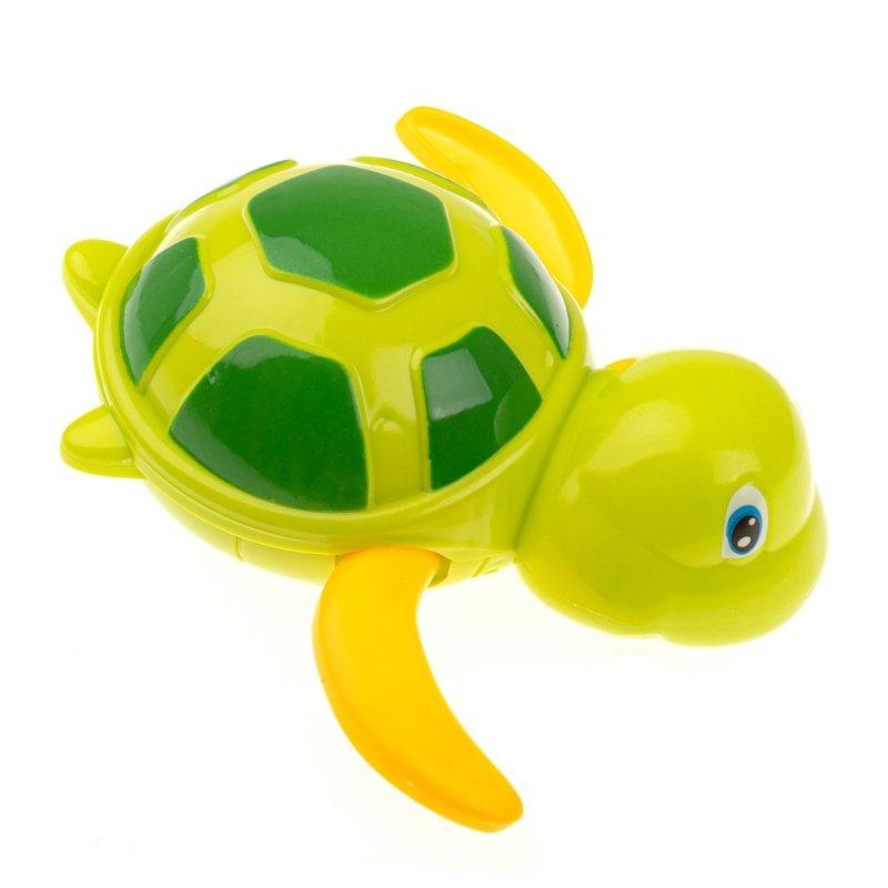Zabawka-do-kąpieli-żółw-wodny-nakręcany-zielony