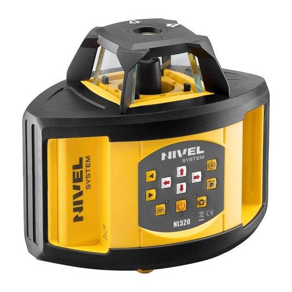 Nivel System NL520 Digital zestaw  z łatą i statywem korbowym