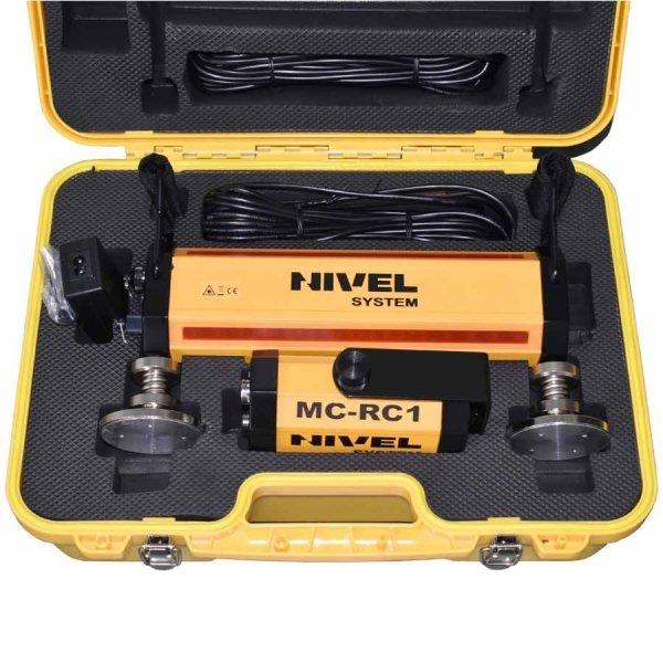 Nivel system NL540 z laserowym systemem kontroli maszyn budowlanych