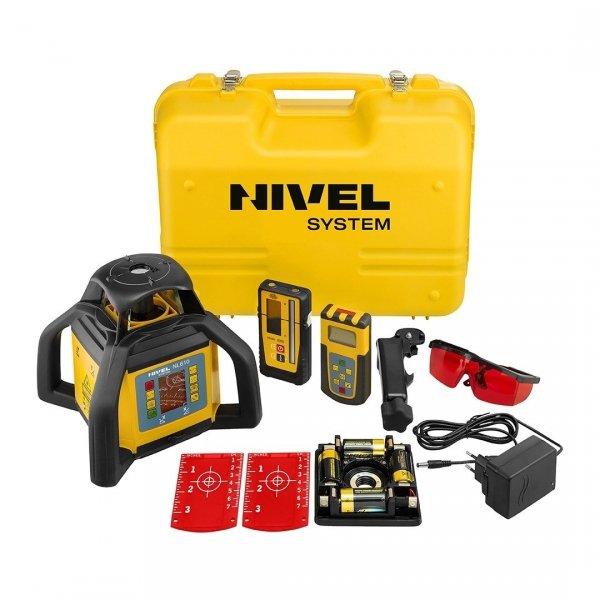 Nivel System NL610 Digital zestaw z łatą i statywem
