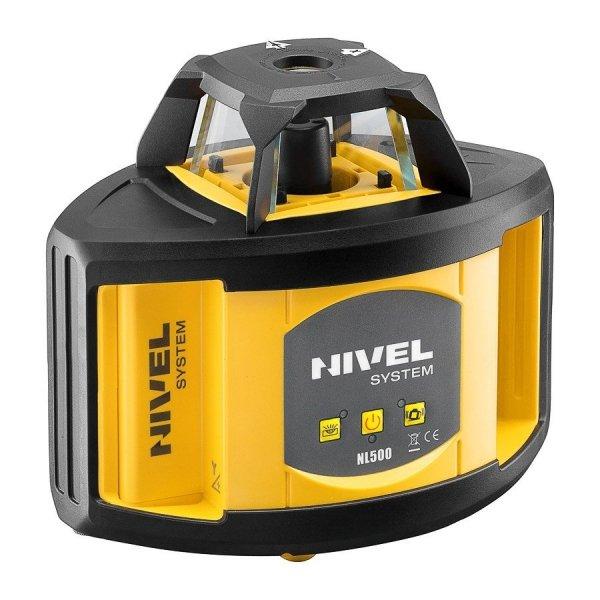 Nivel Sysytem NL500 Digital zestaw  z łatą i statywem korbowym