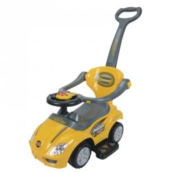 Pojazd, odpychacz 382 - żółty