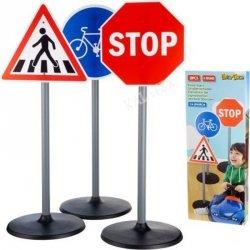 Zestaw znaków drogowych dla dzieci wys. 65cm 3szt