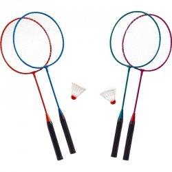 Zestaw do badmintona metalowy i lotka Best Sporting