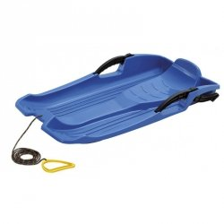 Sanki plastikowe z hamulcami Hornet niebieskie
