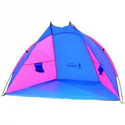 Namiot osłona plażowa Sun 200X120X120cm różowo-niebieska