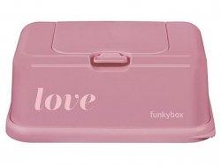 Pojemnik na chusteczki Vintage pink love FUNKYBOX