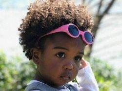 Okulary przeciwsłoneczne dla dzieci Pink 6m+ ANIMAL SUNGLASSES