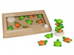 Drewniana gra zręcznościowa Żółwie 4l+ MILANIWOOD