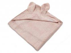 Ręcznik bambusowy z kapturkiem Różowy 100x100 BAMBOOM