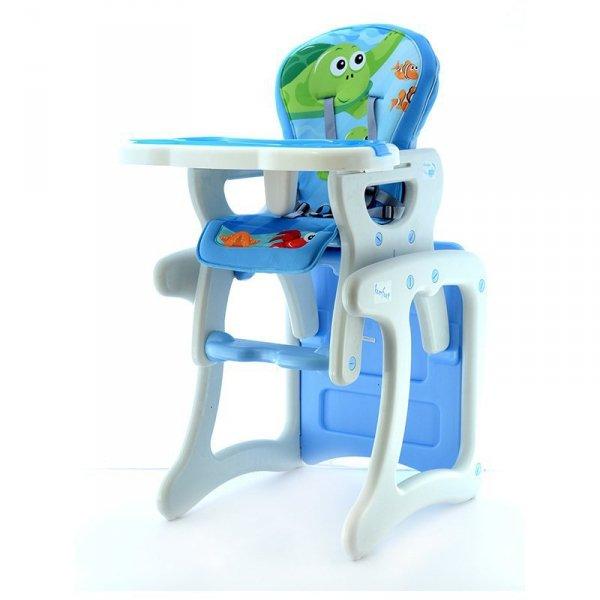 Krzesełko + stół hb-gy01 blue