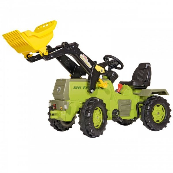 Rolly Toys Traktor na Pedały z Biegami Mercedes Benz Łyżka 3-8 Lat