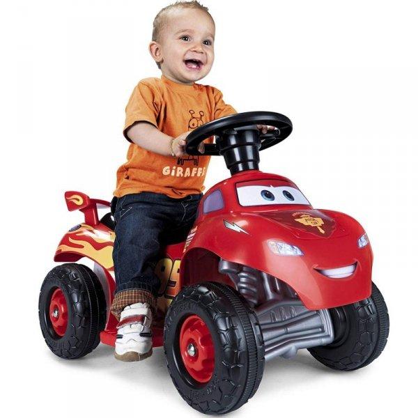 FEBER Quad Zygzak McQueen dla Dzieci na Akumulator 6V CARS