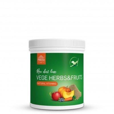 POKUSA Vege Herbs & Fruits uzupełnienie diety 200g
