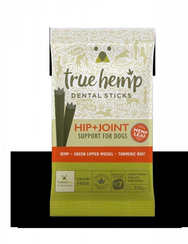 TRUE HEMP Dental stick z konopiami 100G - biodra + stawy