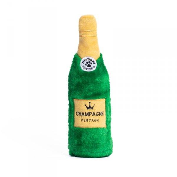 ZippyPaws Plusz CHAMPAGNE zabawka na butelkę