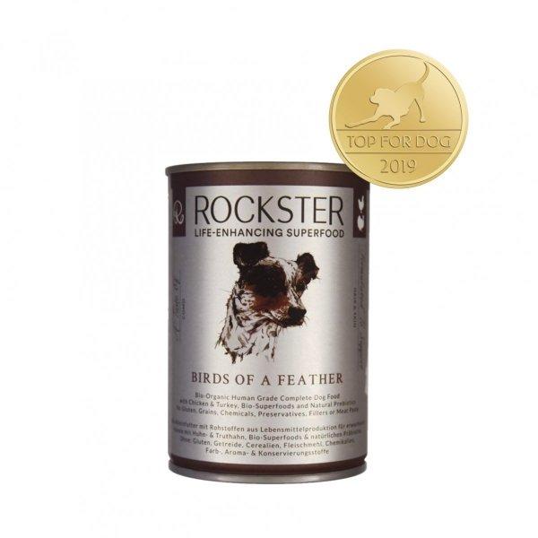 Rockster Birds of a feather - bio kurczak i indyk 340g