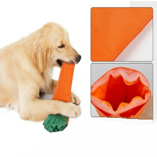 Zabawka dla psa MARCHEWKA