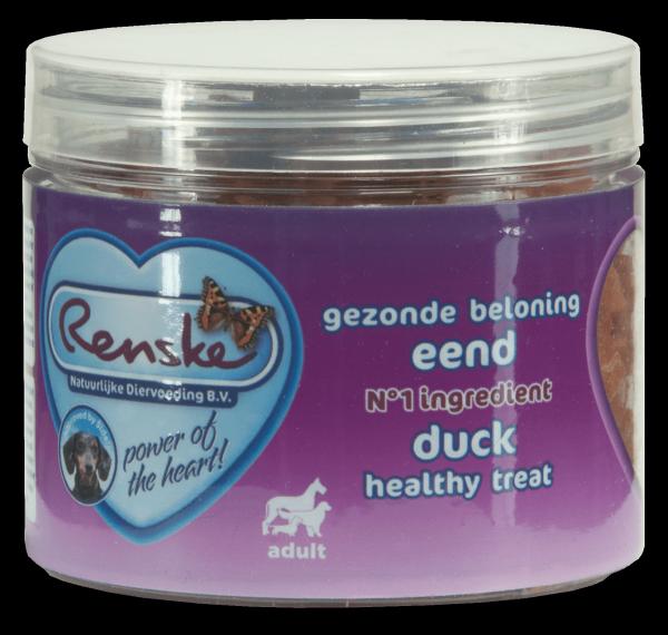 Renske Dog Healthy Treat  Duck – zdrowy przysmak dla psów - kaczka 100g