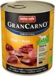 Animonda 82743 Gran Carno Adult Woł+Indyk 800g