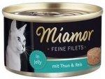 Miamor 74048 Feline Filets Heller Tuńczyk+Ryż 100g