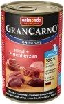 Animonda 82728 Gran Carno Junior Wołow+serca 400g