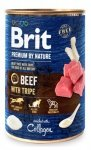 Brit Premium By Nature puszka 400g Beef&Tripes