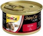 Gimcat 413112 Shiny Cat Kurczak 70gr