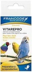 Francodex 174045 witaminy na płodność d/ptaków 15m