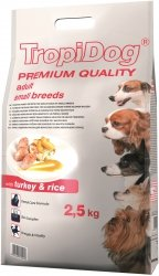 Tropidog 57045 Premium Adult S Turkey&Rice 2,5kg