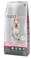 Nutrilove Dog 11488 Sensitive 3kg jagnięcina ryż