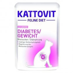 Kattovit 77020 Diabetes 85g Łosoś sasz