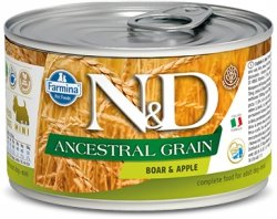 ND Dog 2420 Adult Mini 140g Ancestral Boar&Apple