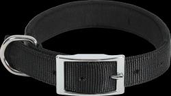 ZOLUX 466727NOI Obroża komfort 45cm/20mm czarna