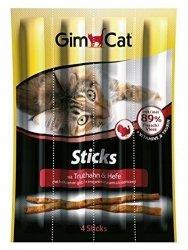 Gimcat 420530 Stick Indyk Królik 4szt